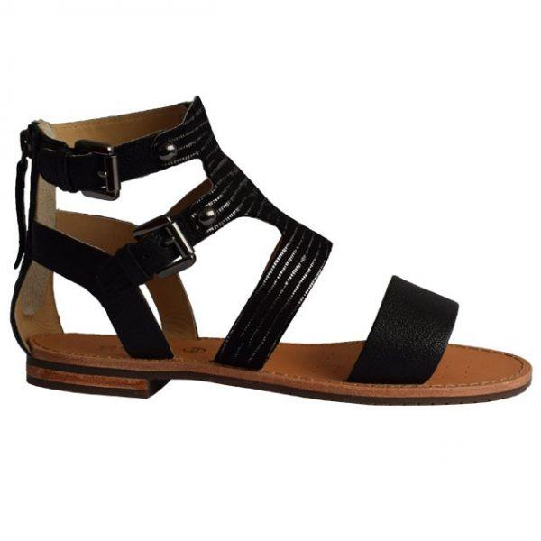 Xarashoes Sandale GEOX D SOZY G D722cg Black