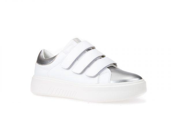 Pantofi Femei Geox D828DC 00085 C1000 White