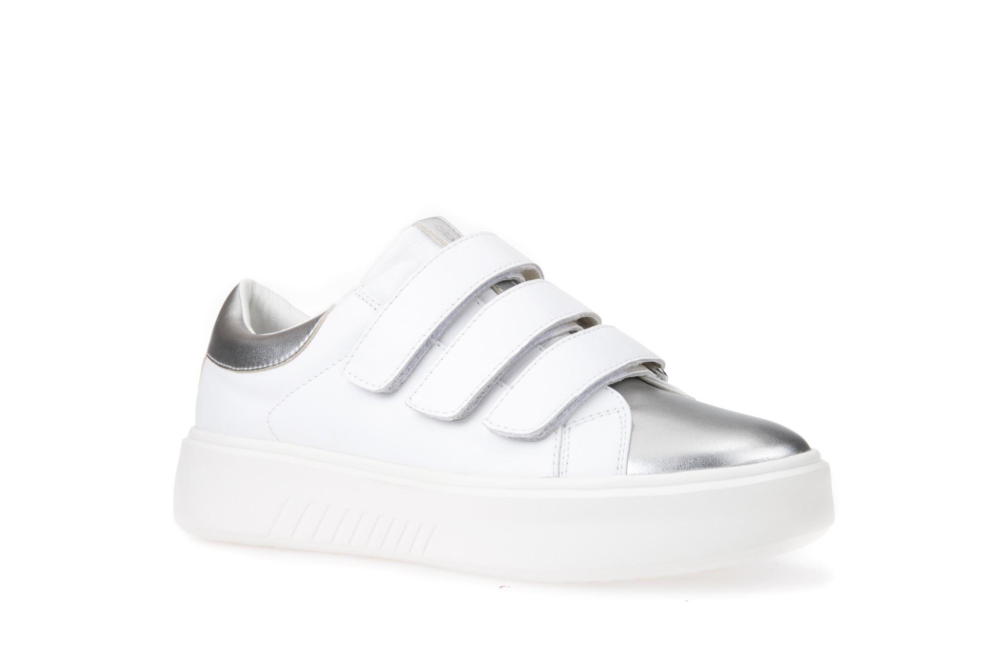 Pantofi Femei Geox D828DC 00085 C1000 White 1
