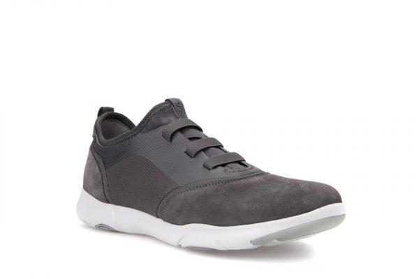 Pantofi Barbati Geox U825AA 02211 C9002 Dk Grey