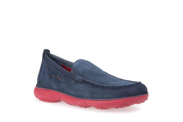 Pantofi Barbati Geox U82D7D 00022 C0200 Blue/Red