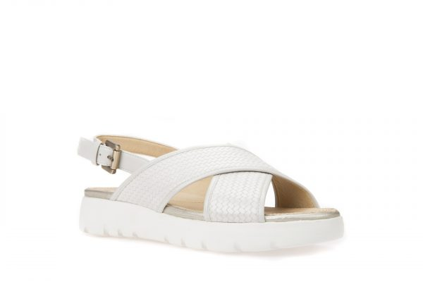 Sandale Geox D827WB_06RBC_C1002 Off White