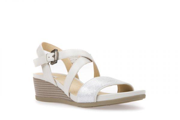 Sandale Geox D828QA_05477_C1002 Off White