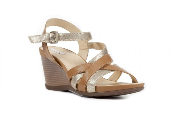 Sandale Geox D828TC_0BCBN_C2DH6 Curry/Lt. Taupe