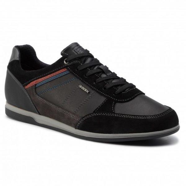 Pantofi barbati Geox U824GB 04322 C9355 black/mud
