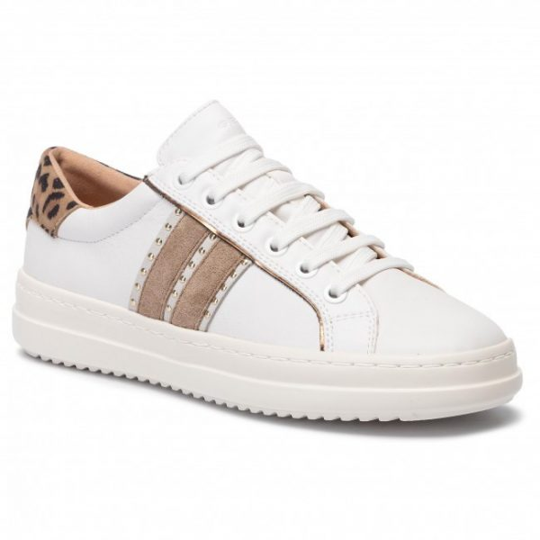 Pantofi femei GEOX D94FED 085BN C1000 WHITE