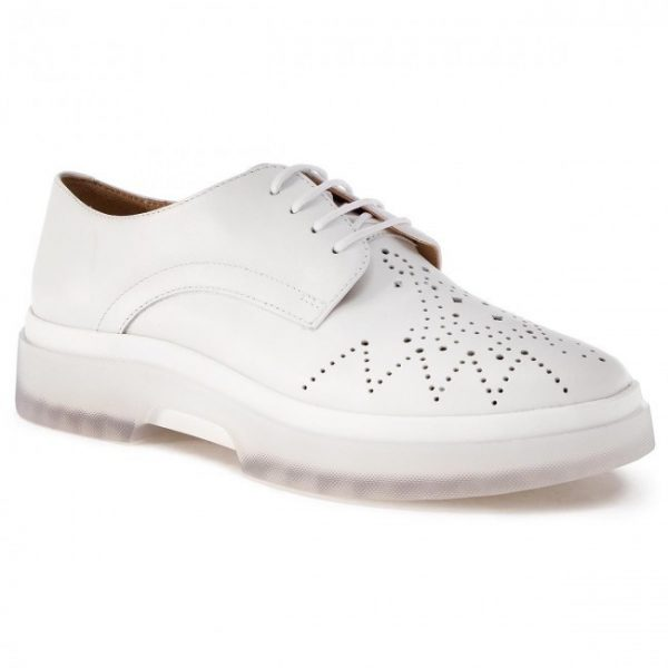 Pantofi femei GEOX D929WC 00043 C1000 WHITE