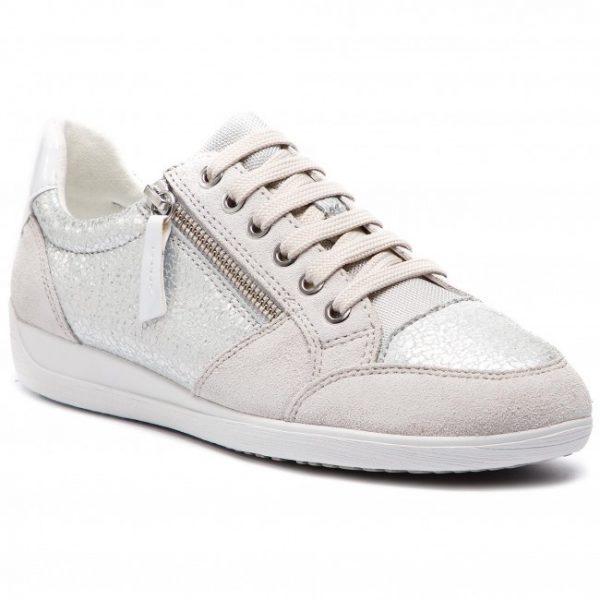 Pantofi femei GEOX D8468B 0KY22 C0628 silver/off white