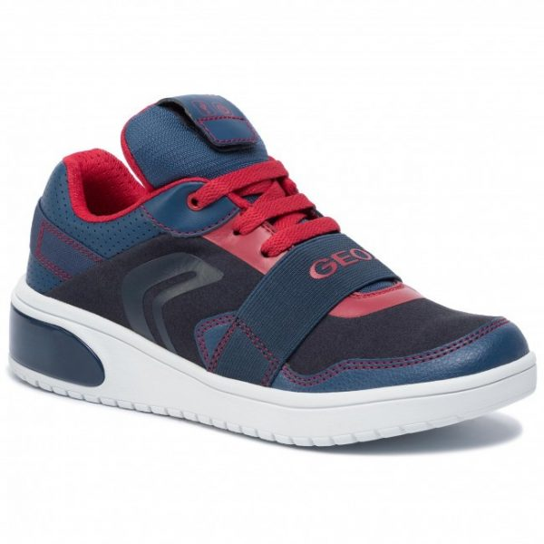 Sneackers copii GEOX J927QB OAUFH NAVY/RED