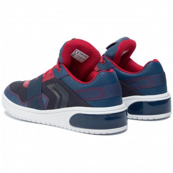Sneackers copii GEOX J927QB OAUFH NAVY/RED
