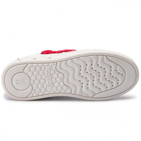 Sneackers copii GEOX J928WC 000RC C0050 WHITE/RED