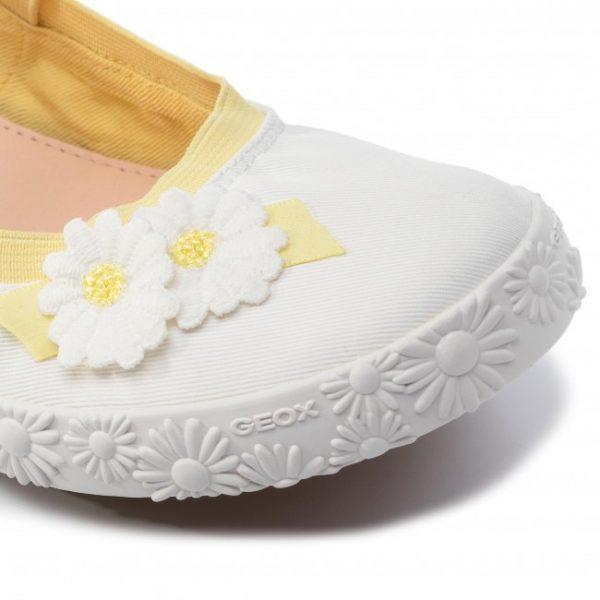 Sneakers fete GEOX J92D5I 00011 C1000 white