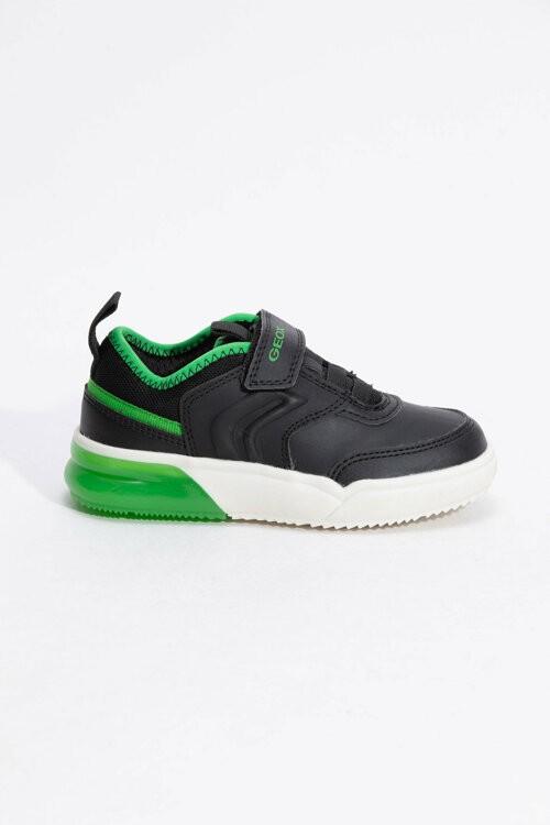 Pantofi copii GEOX J949YD 0BU11 C0016 black/green