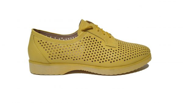 Pantofi dama FORMAZIONE Y22325-18 yellow