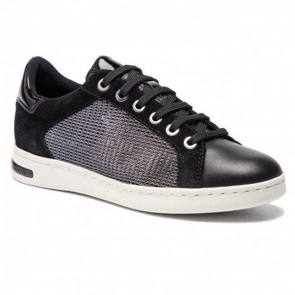 Pantofi femei GEOX 821BA DOLY22 C1223 GUN/BLACK