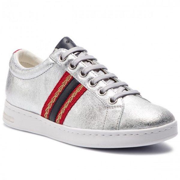 Pantofi femei GEOX 921BA OVIBC C0668 SILVER/NAVY