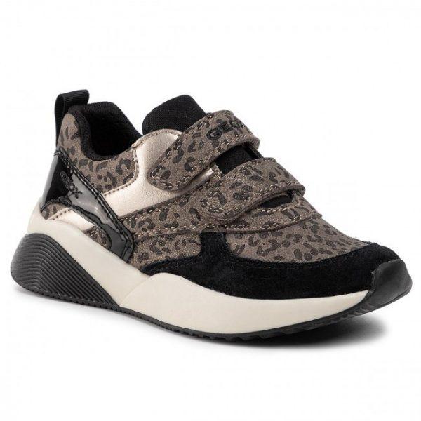 Pantofi copii GEOX J9497B 00422 C2016 Dk Gold