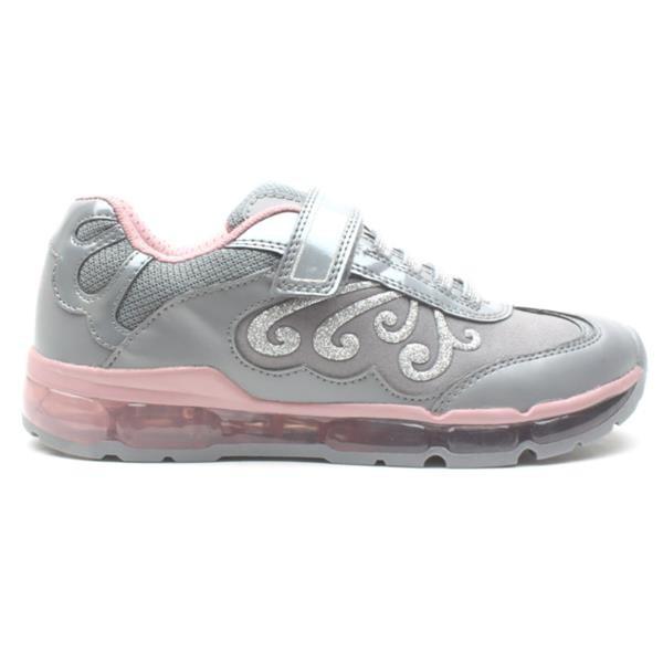 Pantofi copii GEOX J9445A 0AJAU C0502 grey/pink